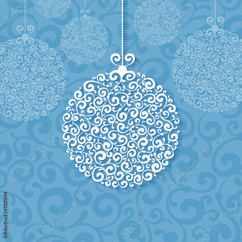 Fototapeta Christmas background