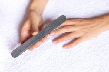 Manicure nail file