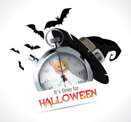Stopwatch - time for Halloween