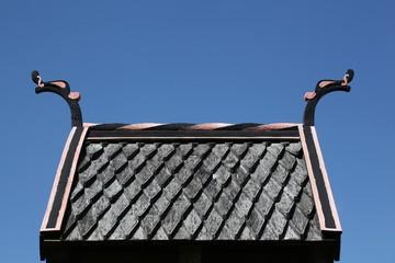 Viking roof on a bell, Denmark