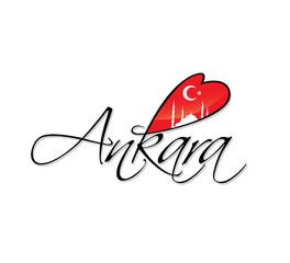 Ankara writing