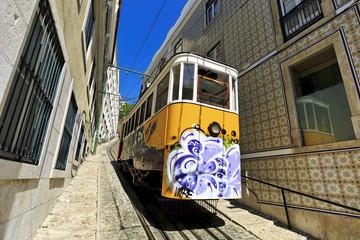 Elevador do Lavra , Lisbon, Portugal