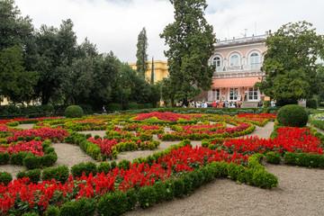 Villa, fleurs et jardin de Opatija