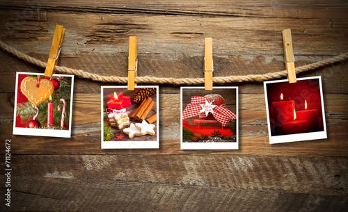 canvas print picture Weihnachtsfotos