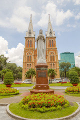 Regina Pacis statue in Ho Chi Minh City