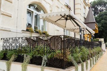 Belle terrasse à Opatija