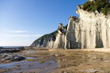rocks of the coast