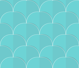 paper circles seamless backgrond
