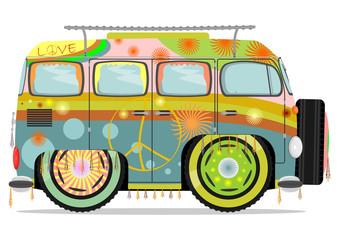 Hippie car.