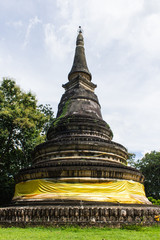 Ancient Pagoda, Wat UMong in Chiangmai, Thailand
