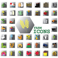 color farm icons