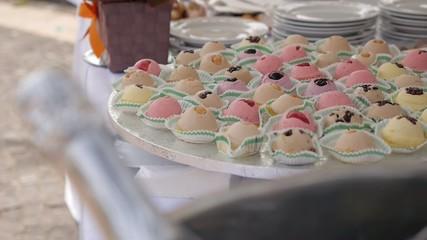 buffet, dolci