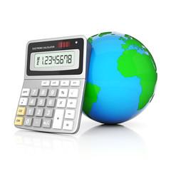Modern office calculator
