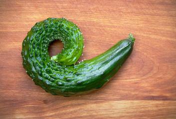 Curling Cucumber