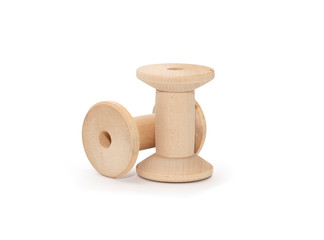 Empty Wooden Spools
