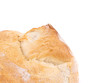 Fresh crispy baguette. Close up.