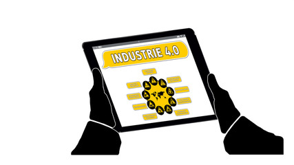 ff5 FutureFactory - Industrie 4-0 v3 tablet-schraeg1 - g1851