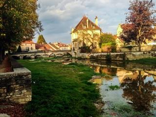 Is-Sur-Tille, Bourgogne, france, automne