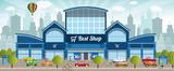 Fototapety Shopping center in the city