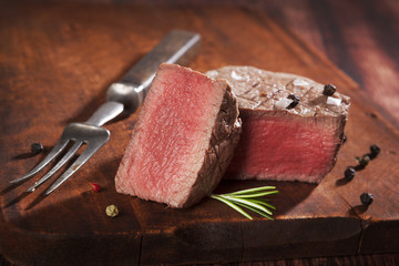 Tenderloin steak.