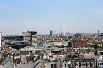 Aerial View Vienna