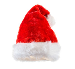 Santa claus red hat.