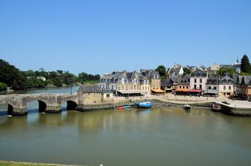 le port Saint-Goustan a Auray