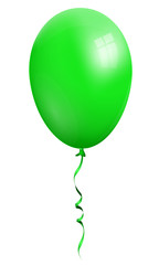 Balloon, single green