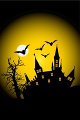 Halloween Schloß