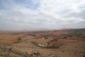 Valle de Santa Inés à Betancuria à Fuerteventura