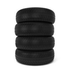 Black tires