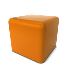 Caramel cube