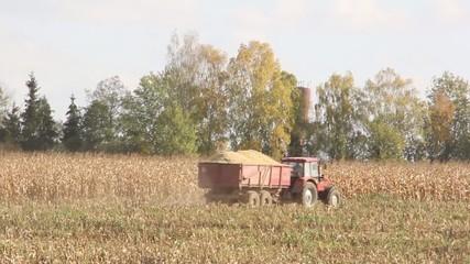 Harvester harvests