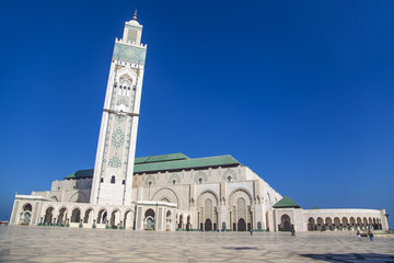 Mosque Hassan II in Casablanca, Morocco