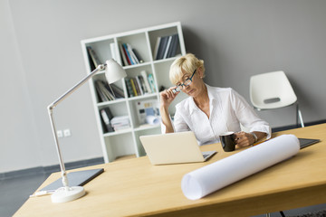 Woman in the office