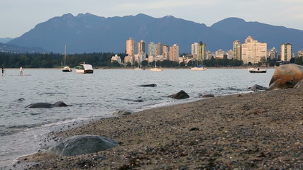 West End Vancouver Evening, English Bay