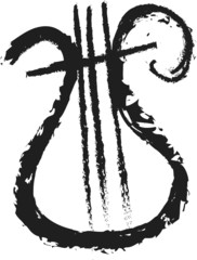 doodle  lyre