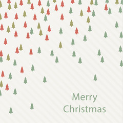 Vector Christmas square background. Colorfully background - Chri