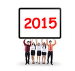 Business group hold number 2015