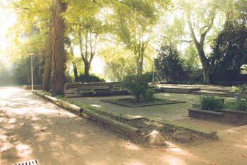 Viersen Parkanlage nahe dem Stadtgarten