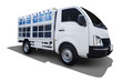 Carrier truck for mineral water