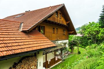 Wonderful alpine classic house