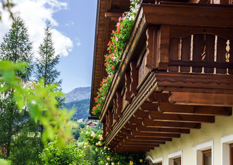 Wonderful alpine classic house