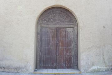 traditional arabic door background