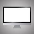 canvas print picture - Modern digital computer screen