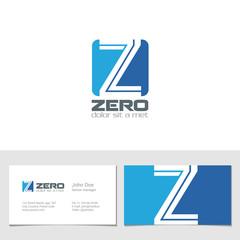 Corporate Logo Z Letter company vector design. Logotype