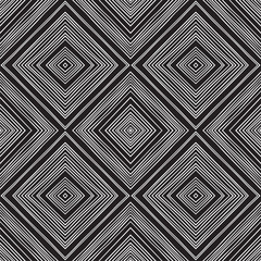 Repeating geometric tiles with rhombus. Vector