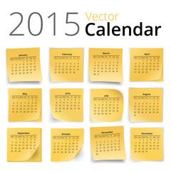 Stiky calendar