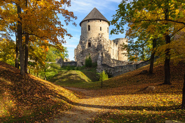 Old Castle in Cesis