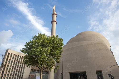 Leinwanddruck Bild central mosque cologne